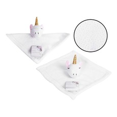 First Steps Unicorn Baby Comforter