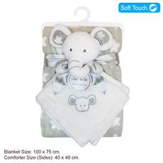 Baby Bow Blanket & Comforter 75 x 100cms