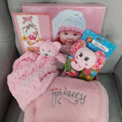 Baby Girl Bundle Gift Box (Small)