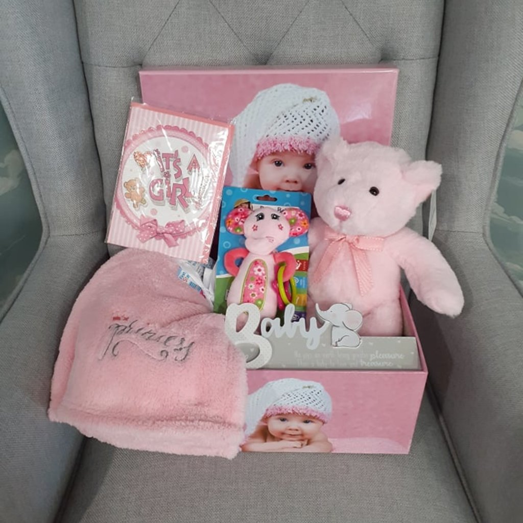 Baby Girl Bundle Gift Box (Large)