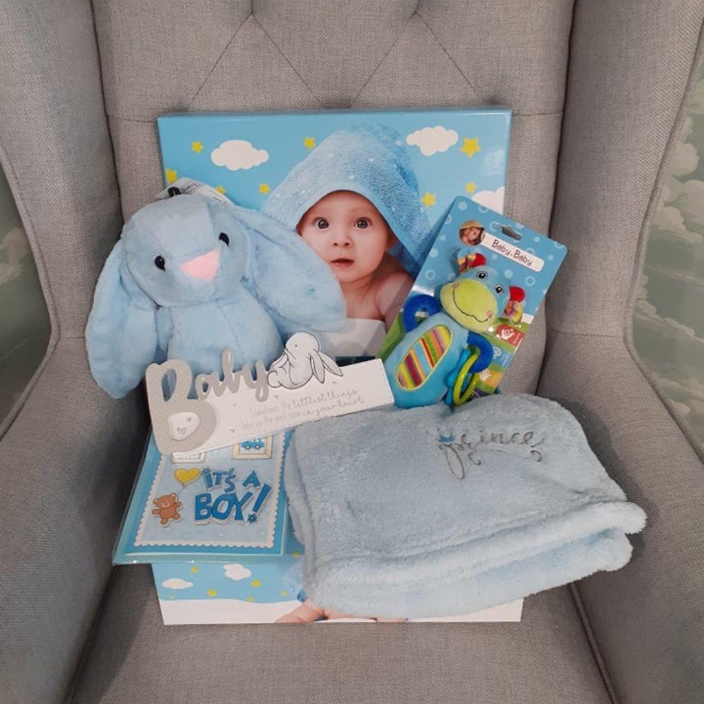 Baby Boy Bundle Gift Box (Large)
