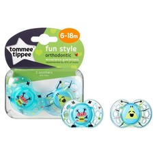 Tommee Tippee Tommee Tippee Fun Air Soother 6-18m 2pk