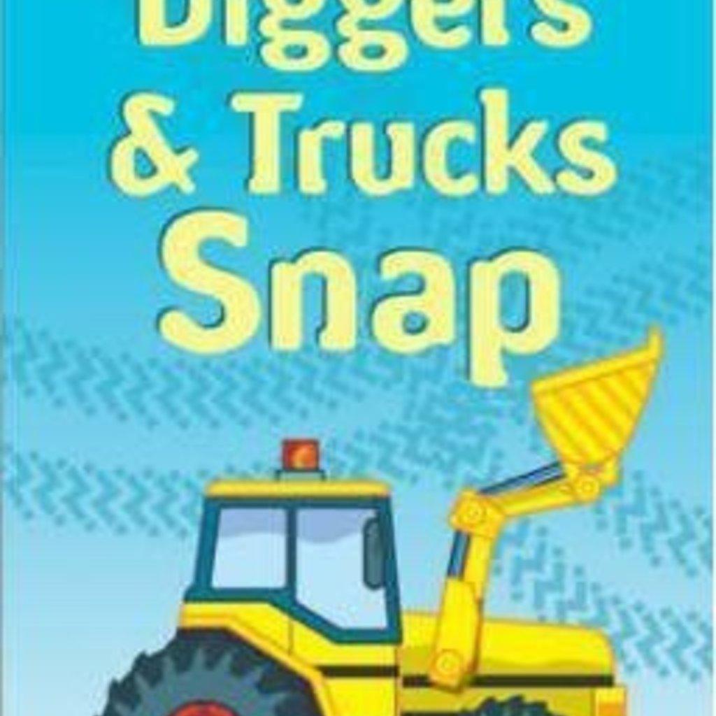 Snap Cards Trucks & Diggers