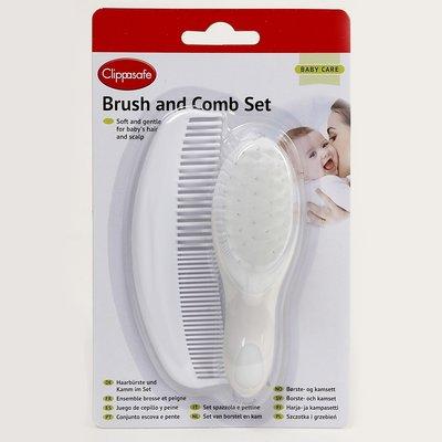 Clippasafe Brush and Comb set