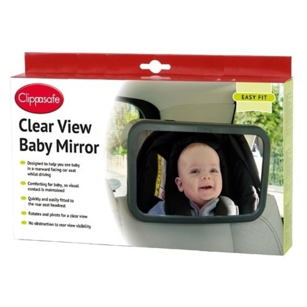 Clippasafe Clippasafe Clear View Baby Mirror