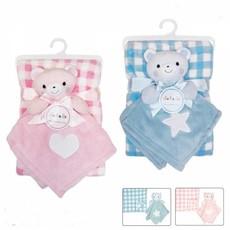 Daydream Check Blanket & Teddy Comforter