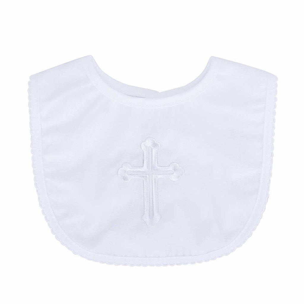 Daydream Baby Satin Christening Bib