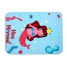 Mini Mermaid Baby Blanket