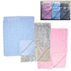 Daydream Baby Sherpa Fur Blanket-Blue
