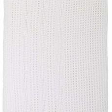 Baby Elegance Cellular Cot Blanket White 100x150