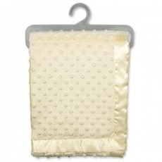 Daydream Dimple Blanket Twin Layer Velour