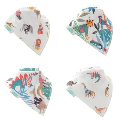 Ziggle Bandana Dribble Bibs Wild At Heart