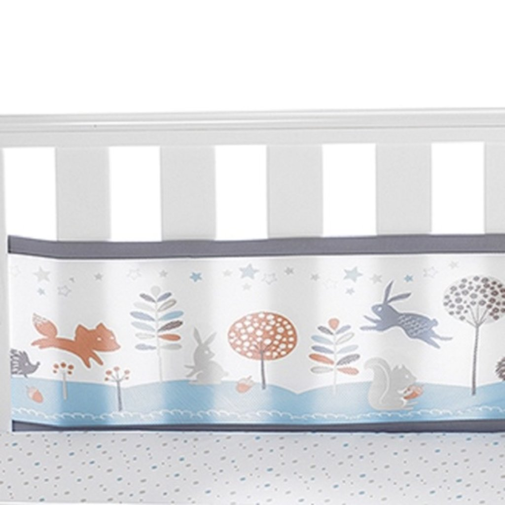 Breathable Baby Breathable Baby Mesh Cot Liner Enchanted Forest