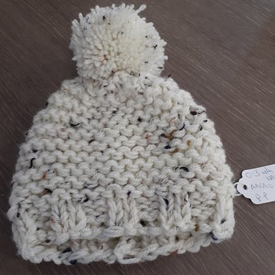 Knitted Hat- 0-3m