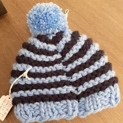 Knitted Hat- Boys 0-6