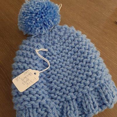 Knitted Hat- Boys 1-3 Yr