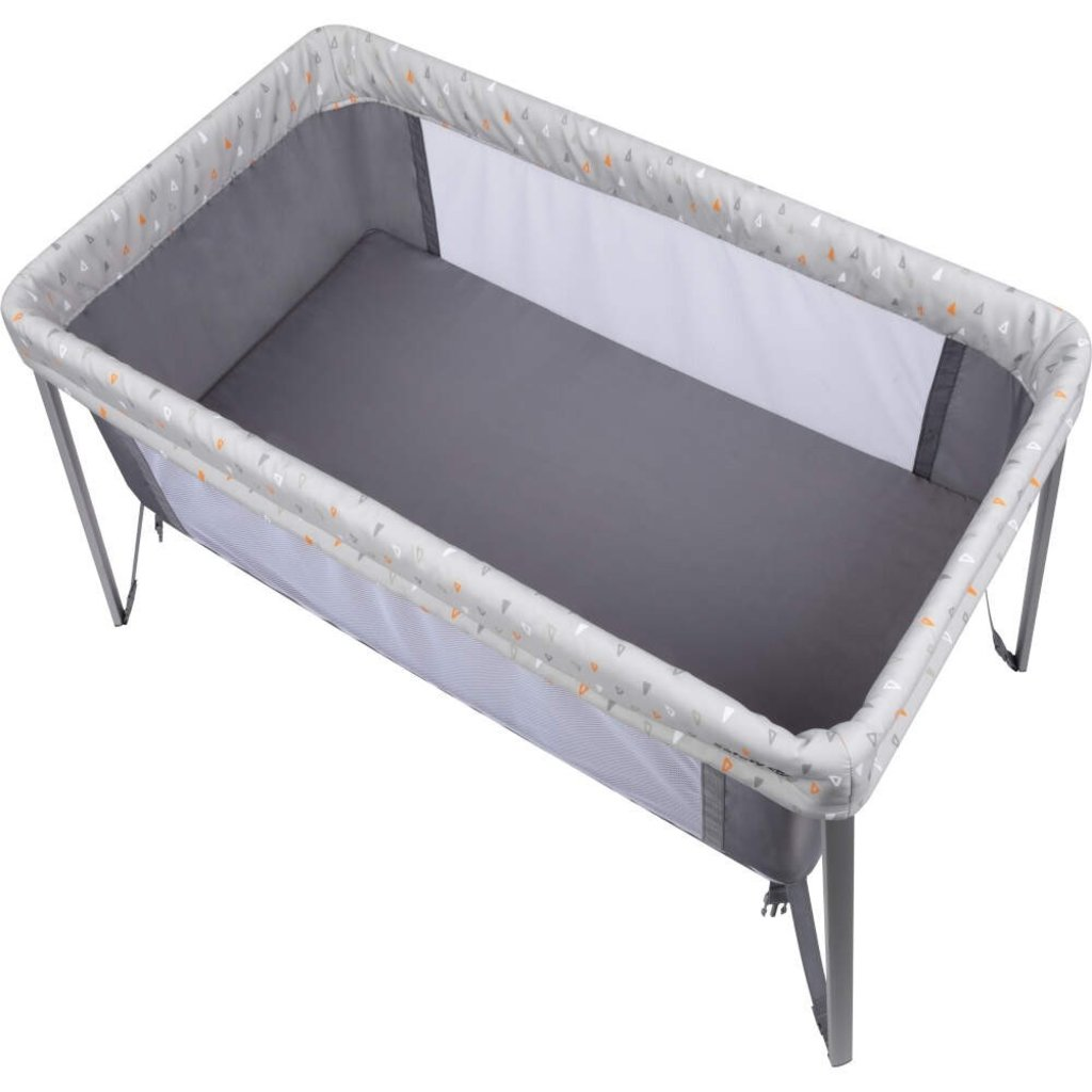 Safety 1st Safety 1st Globe Dreamer Travel Cot- Warm Grey