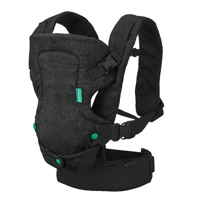 Infantino Infantino Flip Advanced  4 in 1  Baby Carrier Black