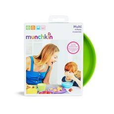 Munchkin Munchkin Multi Plates 4pk
