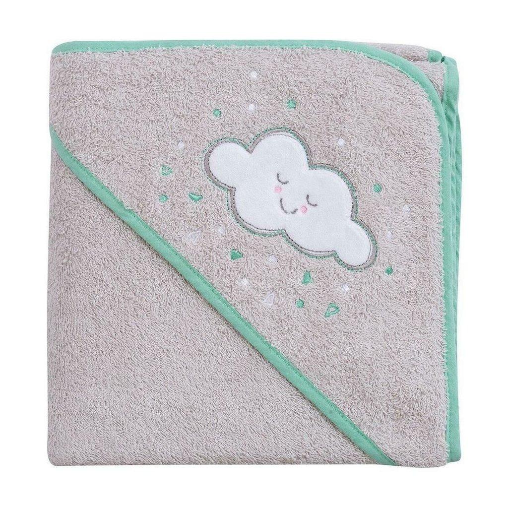 Clevamama Clevamama Apron Bath Towel Grey