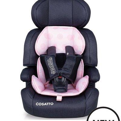 Cosatto Cosatto  Zoomi Grp 1/2/3  Go lightly Pink