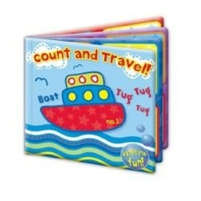 First Steps Baby Bath Book-  Count And Travel