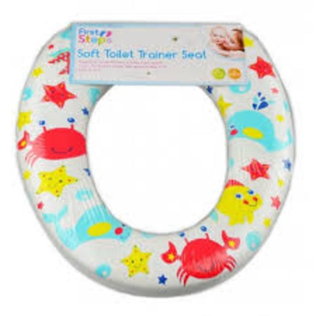Soft Toilet Trainer Seat- Seaworld