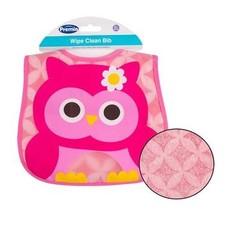 Premia Baby Owl Wipe Clean Bib