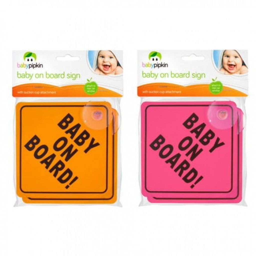 Baby on Board Car Sign (2 pk)