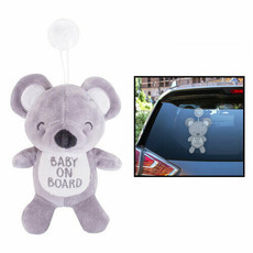 First Steps Baby on Board Teddy Bear Car Sign