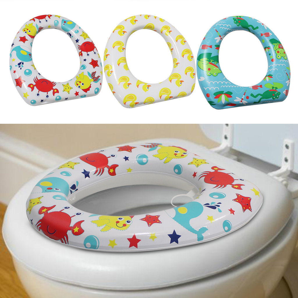 Soft Toilet Trainer Seat- Frogs