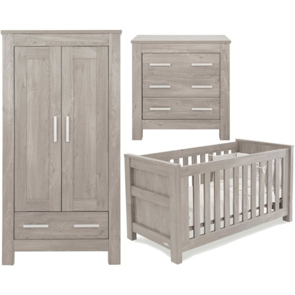 babystyle BabyStyle Bordeaux Ash 3 Piece Room Set