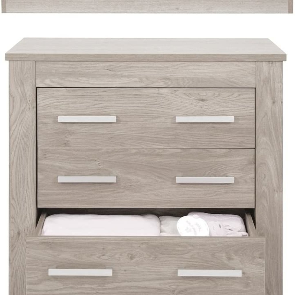 babystyle BabyStyle Bordeaux Ash Dresser and baby Changer