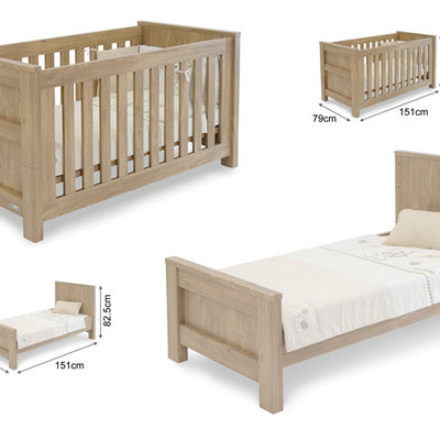 babystyle BabyStyle Bordeaux Cot Bed