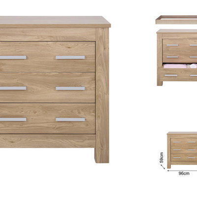 babystyle BabyStyle Bordeaux Dresser And Baby Changer