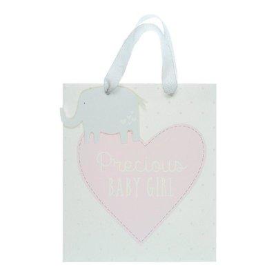 Petit Cheri Petit Cheri 'Precious Baby Girl' Medium Gift Bag
