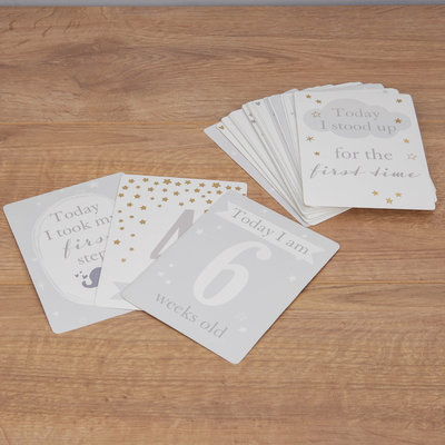 Bambino Bambino Little Star Baby Milestone Cards