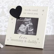 Bambino Bambino Countdown Scan Frame- Mummy & Daddy