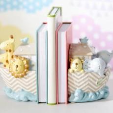 Celebrations Noah's Ark Resin Set of 2 Book Ends
