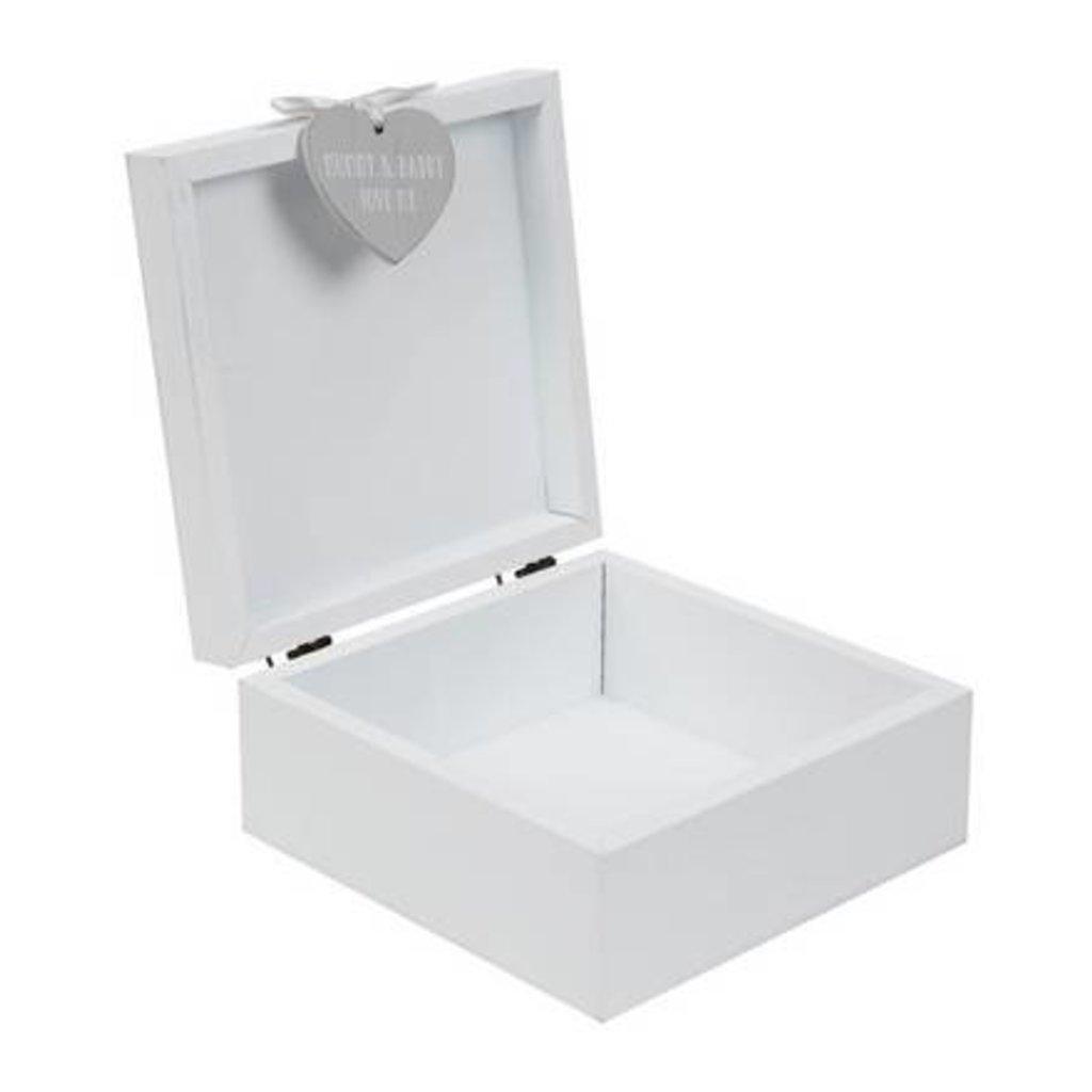 Petit Cheri 'Petit Cheri' Grey Rabbit Keepsake Box