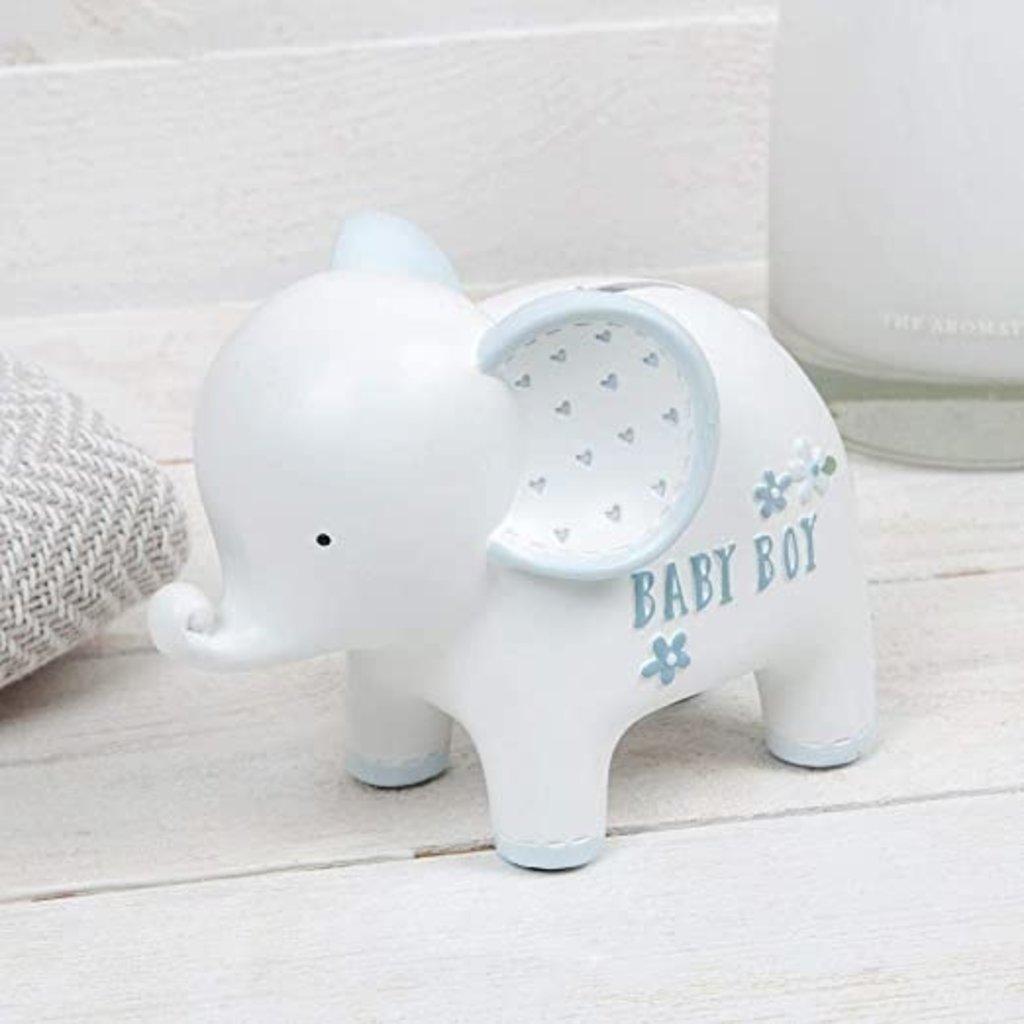 Petit Cheri Petit Cheri Collection Money Box Elephant- Baby Boy