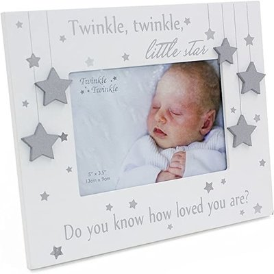 "Celebrations Twinkle Twinkle Photo Frame 5""x 3.5"""