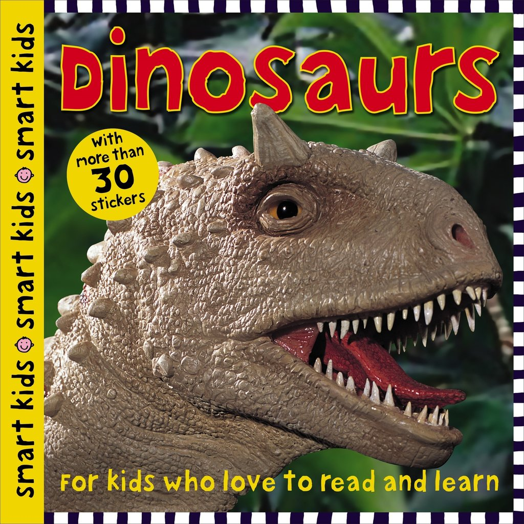 Smart Kids Sticker Activity Dinosaurs