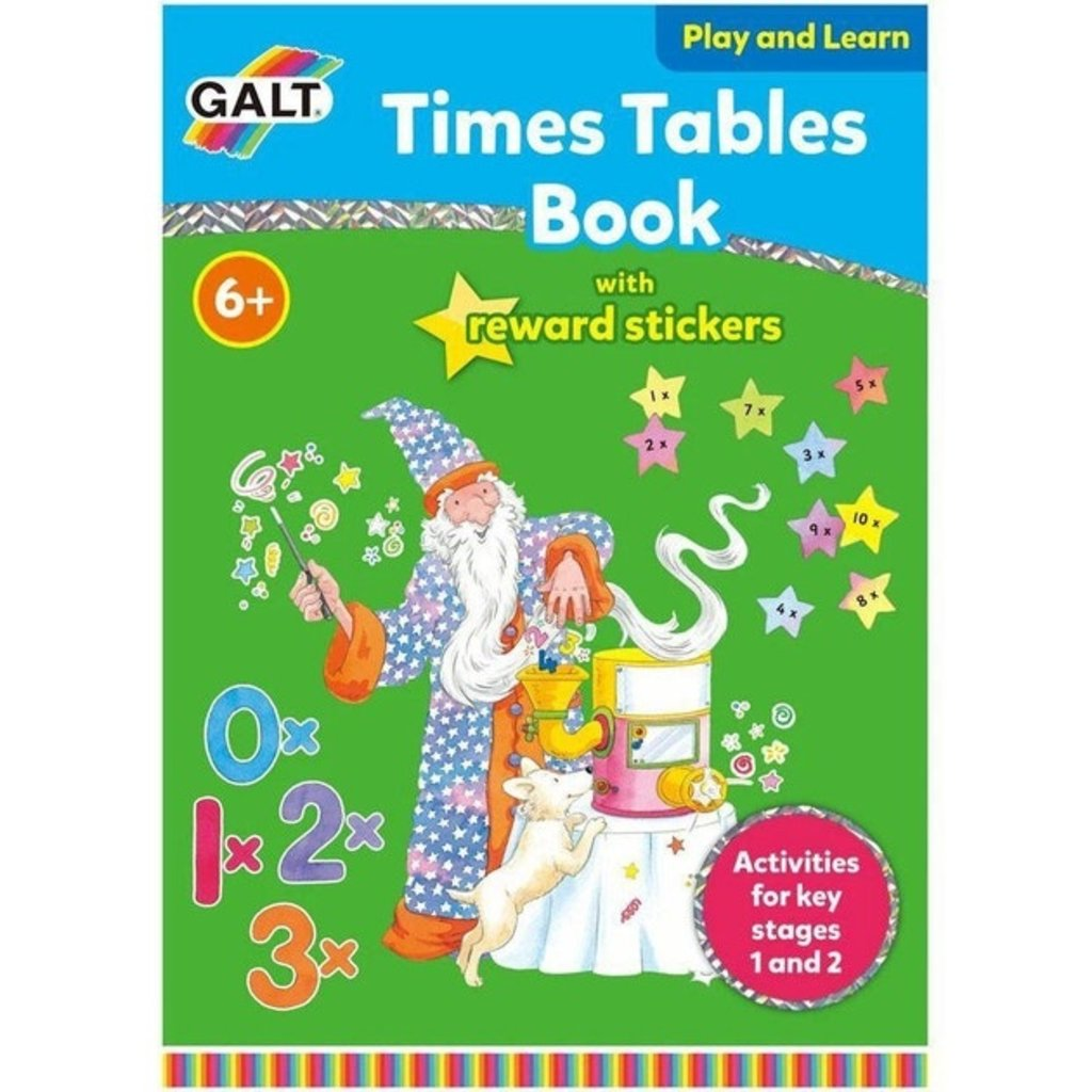 Times Tables Book w/ Reward Stickers