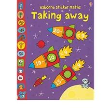 Usborne Sticker Math - Taking Away