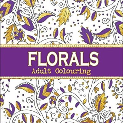 Florals Adult Colouring