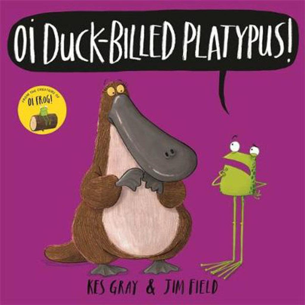 Oi Duck Billed Platypus