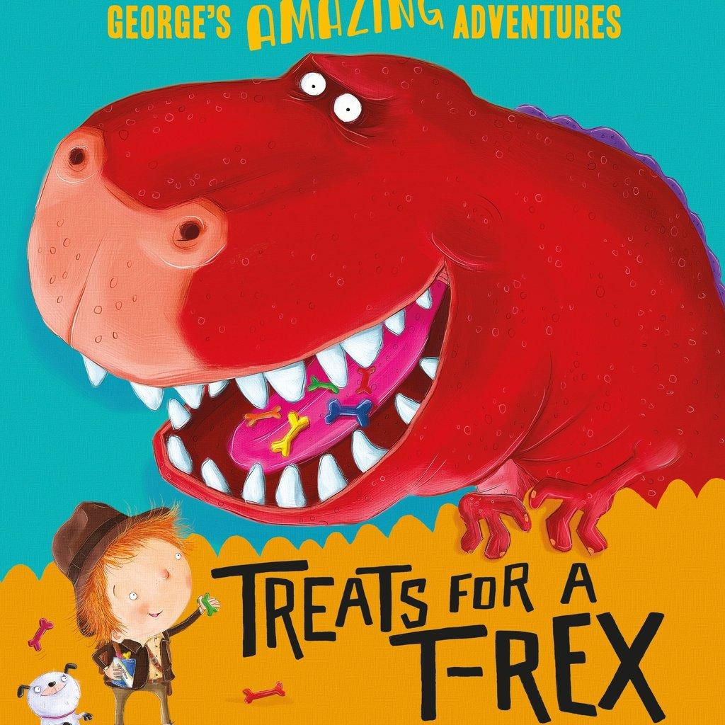 George's Amazing Adventures- Treats For T-Rex