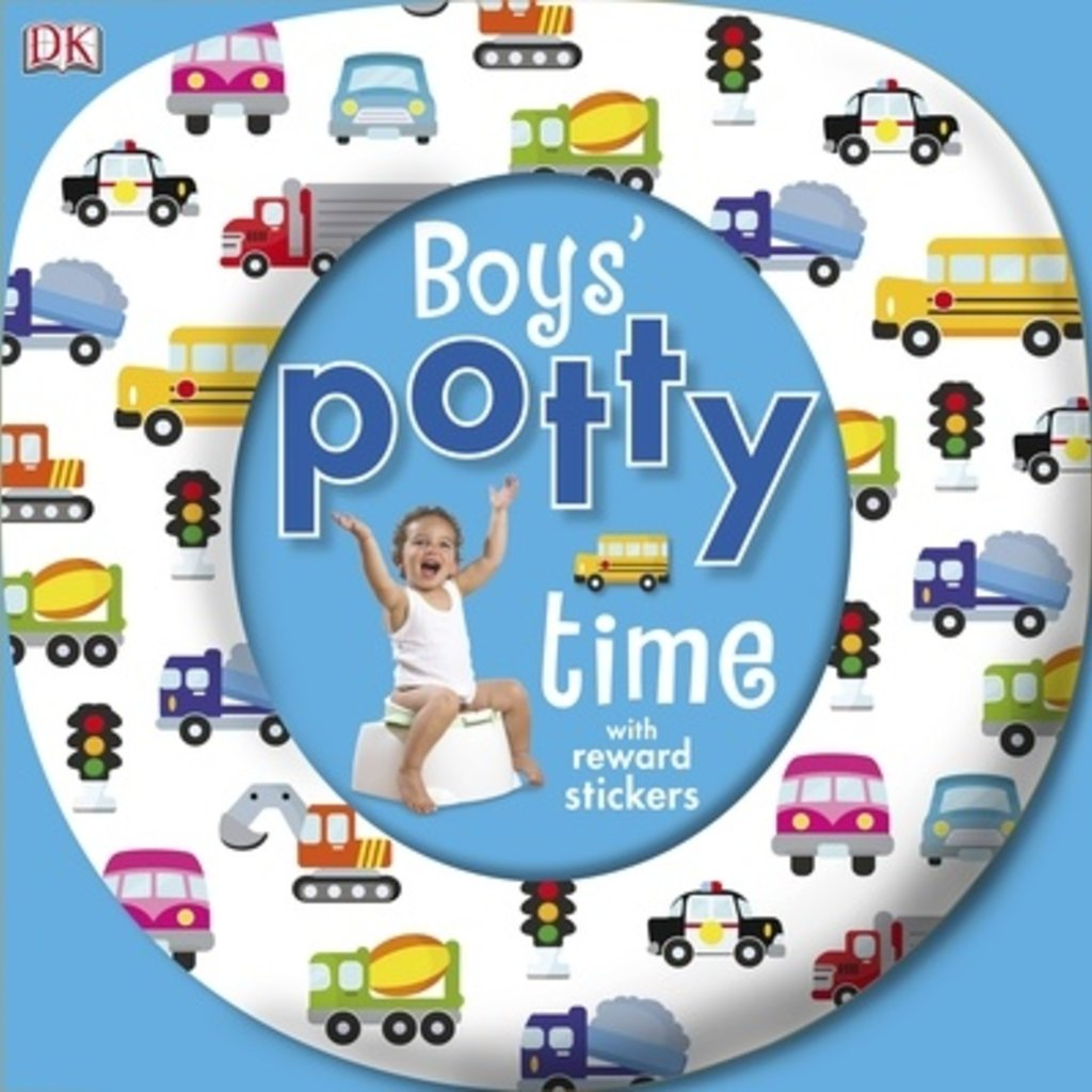 Boys Potty Time