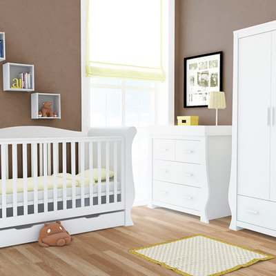 babystyle BabyStyle Hollie Fresh White 3 Piece Room Set